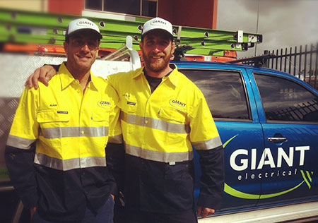 GIANT Electrical Directors - Adam McDonald & Lachlan Chapman